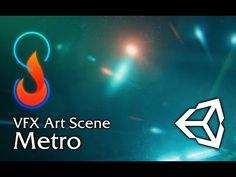VFX Art Scene - Metro