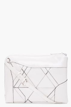 Phillip Lim Axial monochrome.  Niice!  Definitely wanting to patchwork some salvaged leather or vinyl.