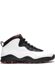 9355e9a19859 JORDAN JORDAN AIR JORDAN 10 RETRO SNEAKERS - WHITE.  jordan  shoes