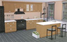 New Vintage Kitchen at Veranka • Sims 4 Updates