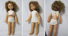 Кукла крупная, Имя Рита? 65 см, шагает, оригинал, Донецк, СССР, 70-е. Редкая! Состояние!