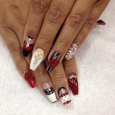 COFFIN NAILS  CC: NAILSBYLY