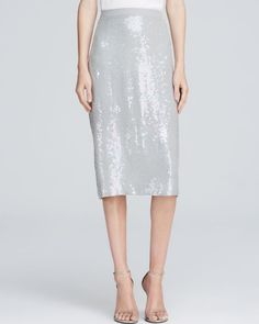 French Connection Skirt - Winter Mist