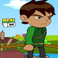 You have to face a new task in the company of Ben 10! This time you must run away a galaxy full of robot that keeps you captive.