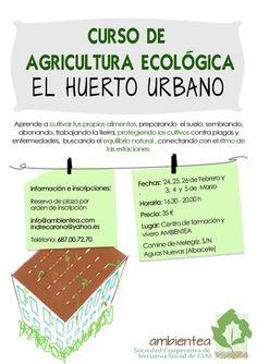 CURSO DE AGRICULTURA ECOLÓGICA PARA EL HUERTO URBANO ecoagricultor.com