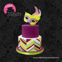 Venice Carnival Cake