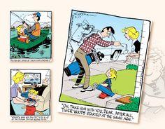 2017 Promotional Calendars - Dennis The Menace Comic Art Calendar - June Calendar June, Art Calendar, Promotional Calendars, Dennis The Menace Comic, Comic Art, Baseball Cards, Comics, Comic Book, Comic Books