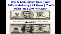How To Make Money Online With Affiliate Marketing | Clickbank | You Got 5 Bucks In Your Pocket? We'll Show You How To Turn That 5 Dollar Bill Into $100+ Per Month In Just 20 Minutes… With Just 20 Minutes Of Your Time… How Many 'Passive Money Machines' Would You Make? (This has NOTHING to do with Facebook ads or paid  traffic) http://yoursuccesslife.com/make-money-online-affiliate-marketing-clickbank-turn-5-dollar-bill-100-per-month-just-20-minutes/