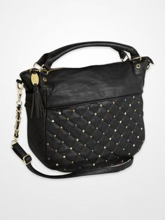 black handbag with studs | Beautiful Handbag Shop