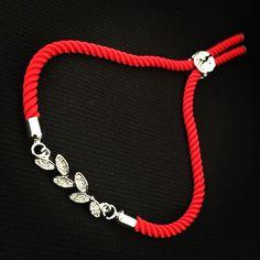 Červený zirkónový náramok s lístočkami, MBZ005 Bracelets, Jewelry, Jewerly, Jewlery, Schmuck, Jewels, Jewelery, Bracelet, Fine Jewelry