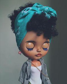 Blythe custom by @tiinavanhatupa