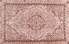 Colored Vintage Teppich - mozaiik Unikat Nr. 127TV Carpets, Vintage World Maps, Beige, Color, Scrappy Quilts, Vintage Ideas, Vintage Rugs, Handarbeit, Colors