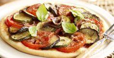 Pizza de verduras y anchoas. Un primer plato o plato único que les encantará #recetas #nestlecocina