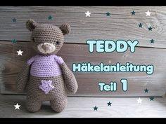 Gratis Häkelanleitung Teddy Bär  für Anfänger
