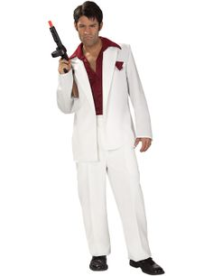 Scarface Tony Montana 80s Costume  Get It On Fancy Dress Superstore Fancy Dress u0026  sc 1 st  Pinterest : pimps costume  - Germanpascual.Com