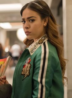 "Netflix Just Revealed The New Cast For ""Elite"" Season 2 - Danna Paola Informations About Netflix Just Revealed The New Cast For ""Elite"" Season 2 Pin You c - Fashion Tv, Gal Gadot, Films Netflix, Mode Outfits, Celebs, Celebrities, My Girl, It Cast, Actresses"