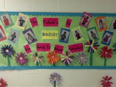 Spring/ end of the year bulletin board. I think it turned out so cute!