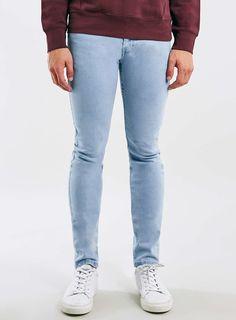 Blue Jeans, Blue Denim, Tight Jeans Men, Lined Jeans, Bleach Wash, Denim Trends, 2016 Trends, Mens Fashion, Fashion Outfits