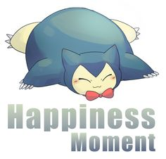 happy Snorlax by Leaf-Pokemon on DeviantArt Pokemon Snorlax, Cute Pokemon, Pokemon Go, Pokemon Stuff, Sleeping Pose, Pokemon Red Blue, Pokemon Memes, Red And Blue, Art Drawings