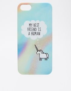 Enlarge ASOS My Best Friend is a Human iPhone 5 Case