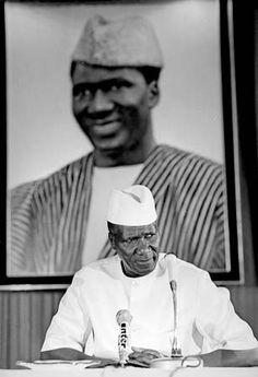Ahmed Sékou Touré.