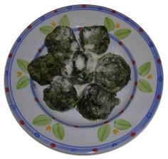 Dumpling Gnocchi with ricotta and spinach