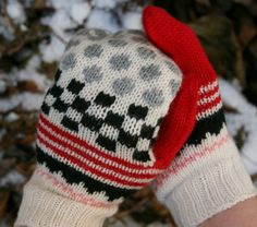 Mittens designed by Liberatore Leifsdottir Inspired by Tsumori Chisato. Pattern book including beautiful knitting patterns for mittens inspired by contemporary designers Pattern Books, Mittens, Knitted Hats, Knit Crochet, Knitting Patterns, Winter Hats, Wool, Inspired, Trending Outfits