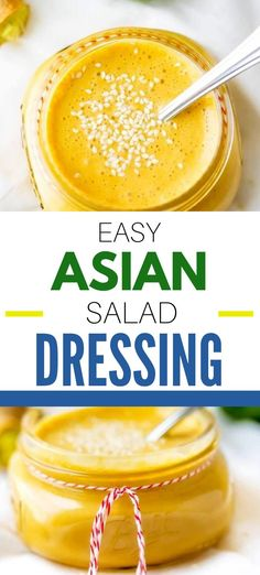This homemade Asian Salad Dressing Recipe is easy to make, healthy and so delicious!  With rice vinegar, sesame oil, lime juice, garlic and ginger this sugar free recipe is a simple Asian Dressing with tons of flavor.  Give it a try and you may never use store-bought dressing again!