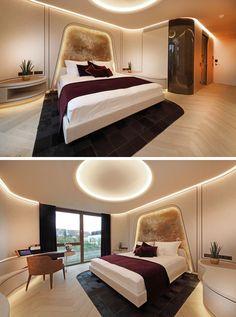 hidden ceiling lighting | dekorasi rumah, rumah, dekorasi