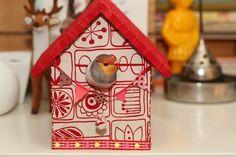 Feest! www.babbelzzz.punt.nl Vogelhuisje / Birdhouse