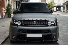 Matte Grey Range Rover Sport