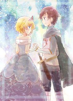 Mion and Wataru form Pretty Rhythm Aurora Dream <3