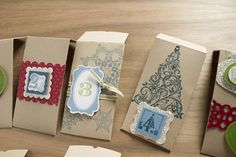 I found this clever idea on stampinup.com