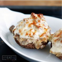 Philly Cheese Steak Stuffed Mushrooms Low carb