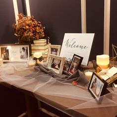 Wedding Entry Table, Wedding Photo Table, Wedding Reception Entrance, Diy Wedding Decorations, Table Decorations, Vintage Glamour Wedding, Wedding Welcome Board, Welcome Table, Chalkboard Wedding