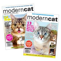 @ModernCatMag  Enter by 2/14/15 for a chance to win 1 of 20 two-year subscriptions to Modern Cat magazine! (you can enter once a day!)   http://moderncat.com/giveaways/modern-cat-magazine-giveaway