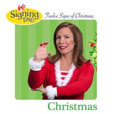 Get great deals on our Baby Sign Language products including, Baby Signingtime, Signingtime, and Rachel and the TreeSchoolers Today! Sign Language Book, Learn Sign Language, American Sign Language, Asl Videos, Music Videos, Asl Signs, The Nativity Story, Deaf Culture, Holiday Signs