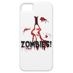I <3 Zombies! - iPhone 5 Case