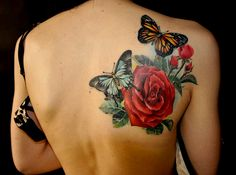 awesome tattoos on pinterest rebel flag tattoos inked magazine and butterfly tattoos. Black Bedroom Furniture Sets. Home Design Ideas