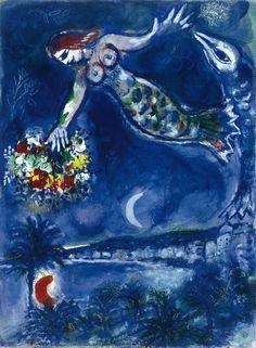Marc Chagall: Sirènes, 1949