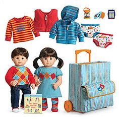 American Girl Bitty Twins starter kit.