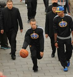 Warriors Visit the Great Wall of China - 10/13/13