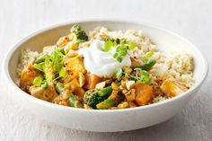 Cashews add texture and crunch to this tasty vegetarian curry. They're rich in potassium, iron and vitamin E.