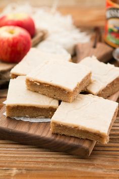 Apple Butter Spice Sheet Cake with Brown Butter Apple Frosting