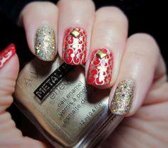 Déco ongles Noël et nouvel an, 49 inspirations exquises pour vous!