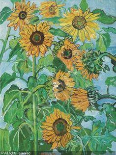 bratby-john-randall-1928-1992-sunflowers-2073952.jpg (373×500)