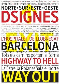 Dsignes by Andreu Balius, via Behance