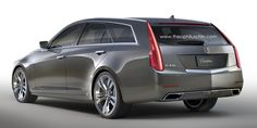Cadillac CTS Sport Wagon (render by Theophilus Chin)