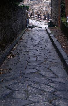 Polygonal Street Paving, Pompeii