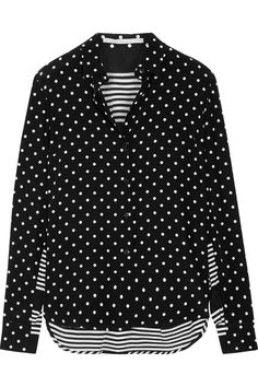I found this on The EDIT by NET-A-PORTER! STELLA MCCARTNEY - Printed silk crepe de chine shirt https://www.net-a-porter.com/product/799394